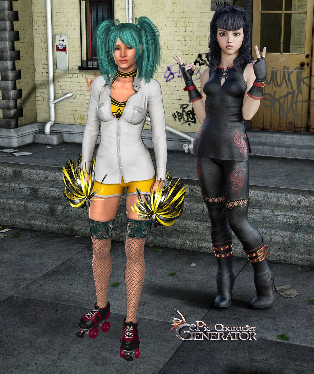 ePic Character Generator Season 2 Female Modern 2 Screenshot 12