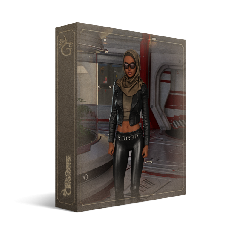 ePic Character Generator Season 2 Female Modern Box