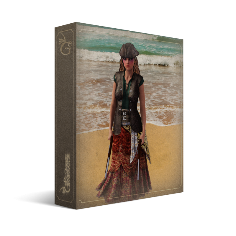 ePic Character Generator Season 2 Female Pirate Box