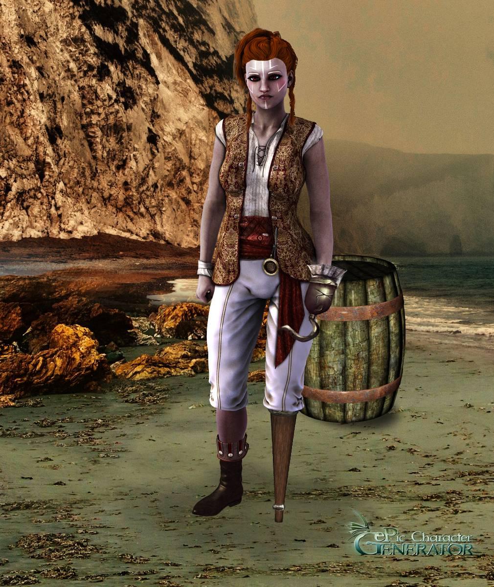 ePic Character Generator Season 2 Female Pirate Screenshot 04