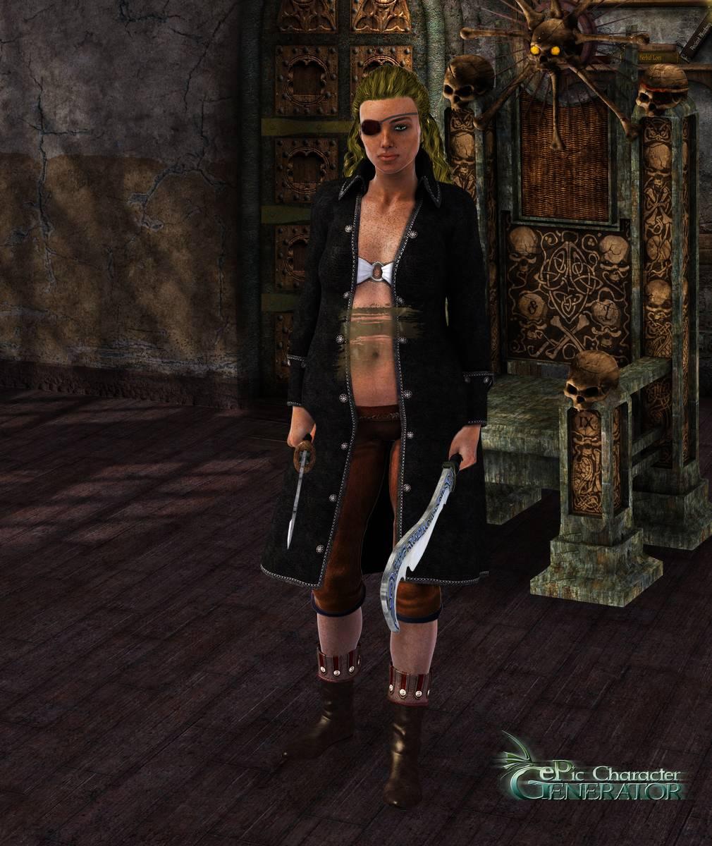 ePic Character Generator Season 2 Female Pirate Screenshot 08