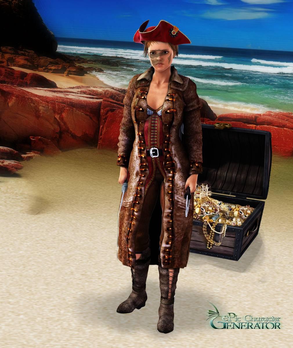 ePic Character Generator Season 2 Female Pirate Screenshot 10