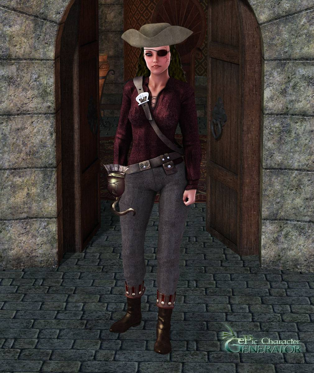 ePic Character Generator Season 2 Female Pirate Screenshot 12