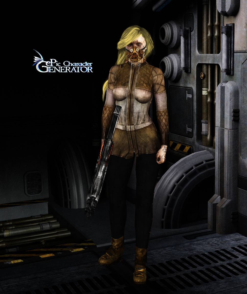 ePic Character Generator Season 2 Female Post Apocalyptic Screenshot 04