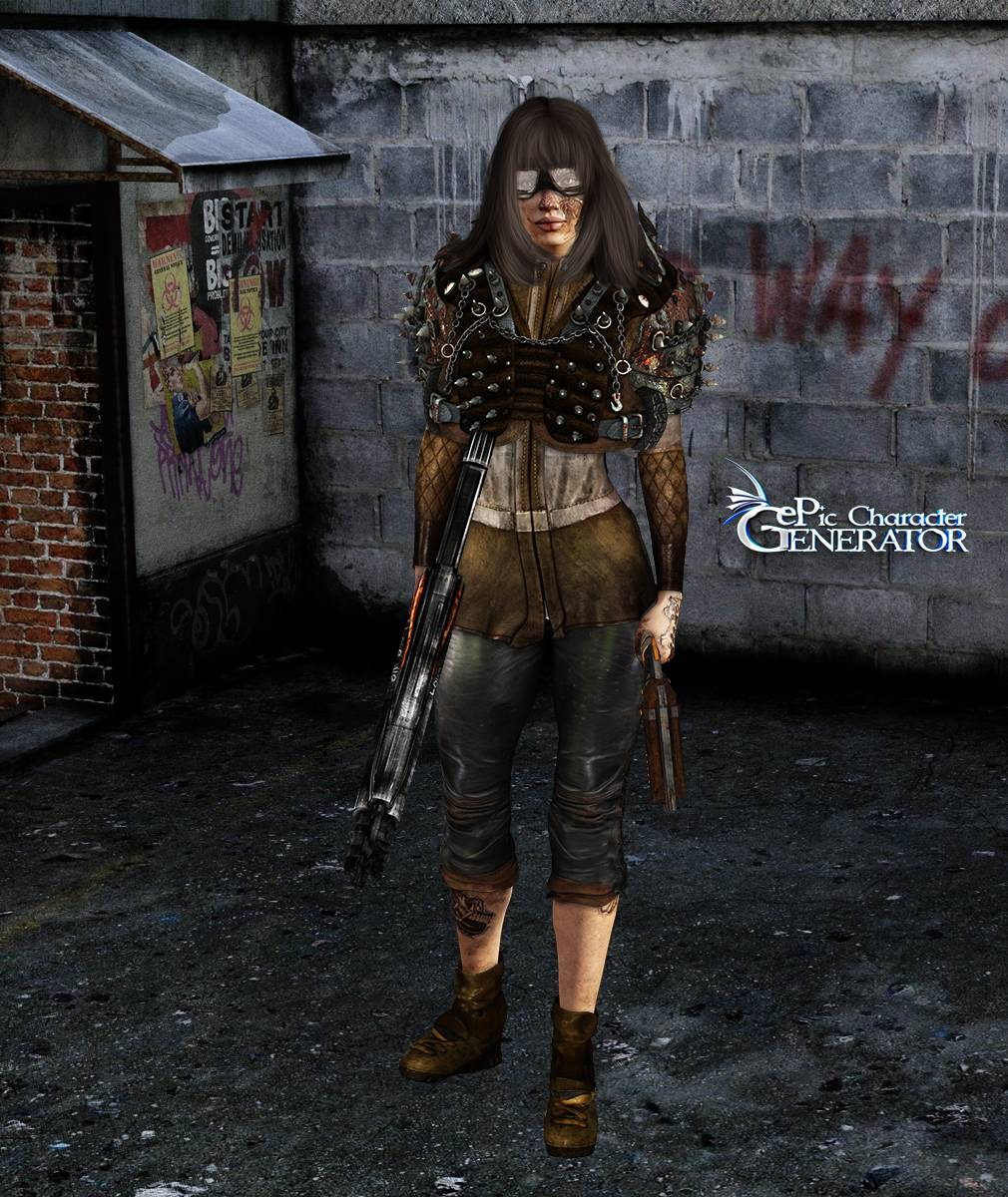 ePic Character Generator Season 2 Female Post Apocalyptic Screenshot 08