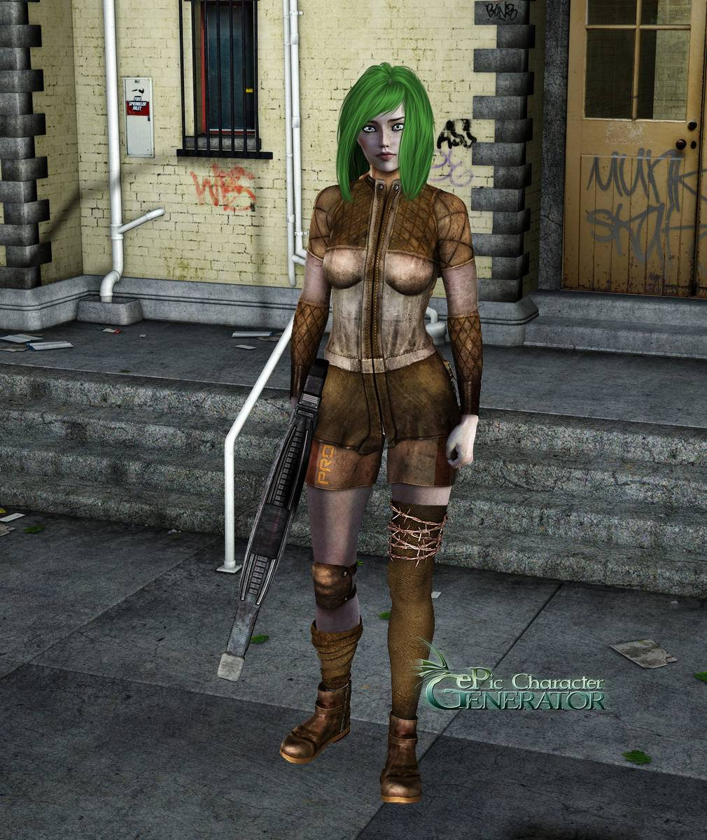 ePic Character Generator Season 2 Female Post Apocalyptic Screenshot 10