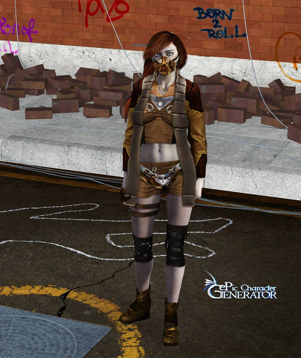 ePic Character Generator Season 2 Female Post Apocalyptic Screenshot 13