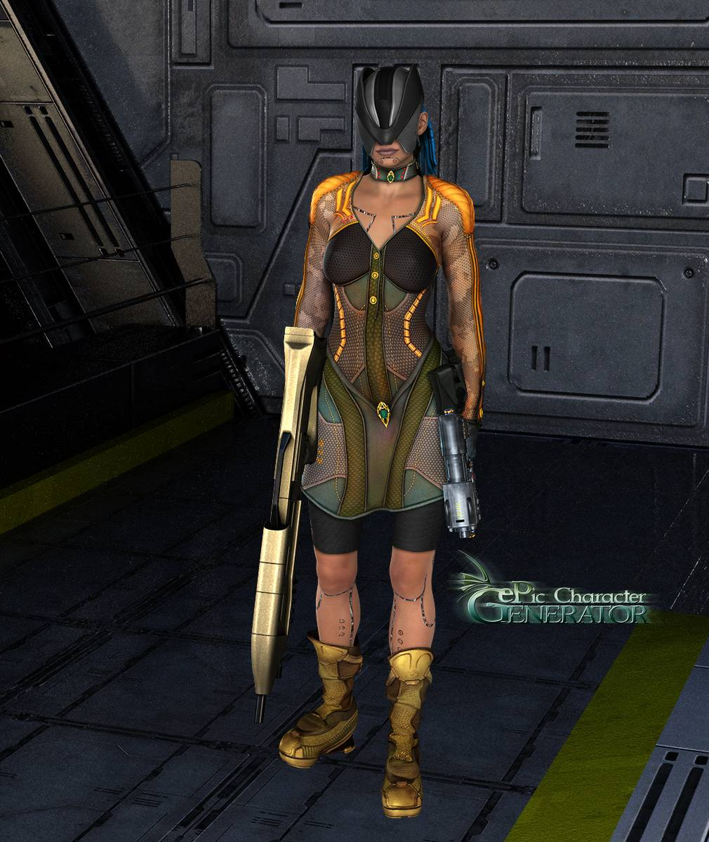 ePic Character Generator Season 2 Female Sci Fi Screenshot 02
