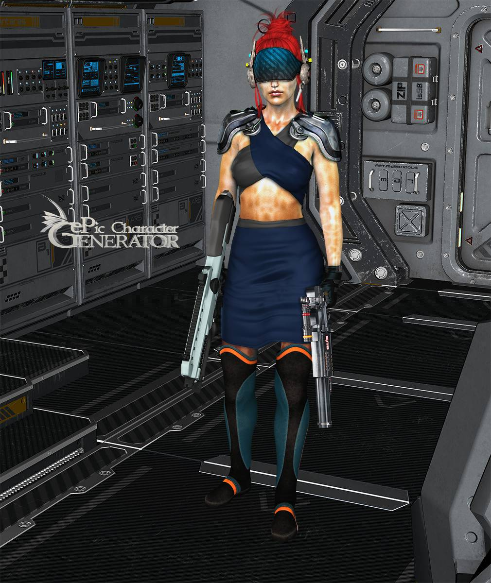 ePic Character Generator Season 2 Female Sci Fi Screenshot 04