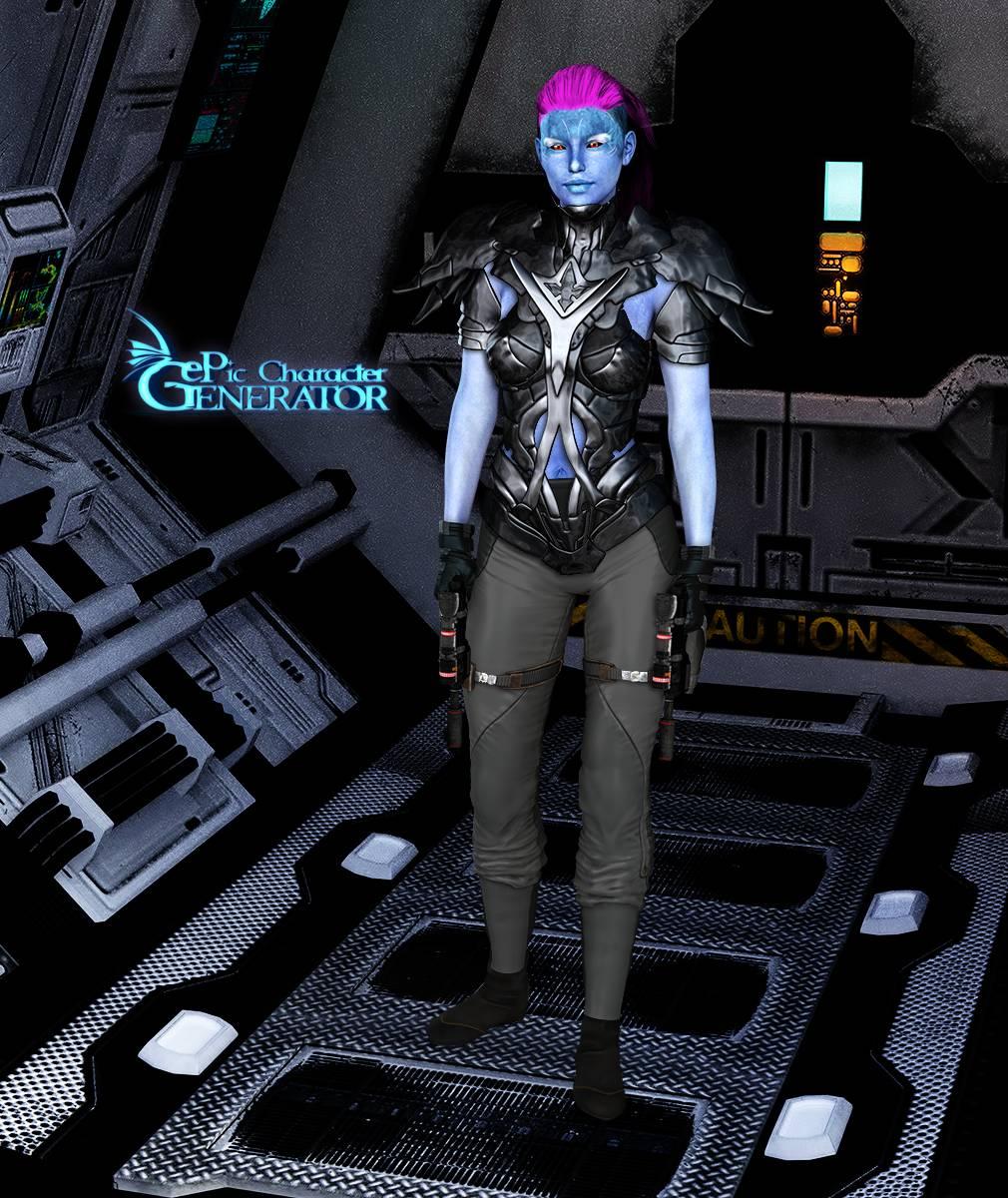 ePic Character Generator Season 2 Female Sci Fi Screenshot 05