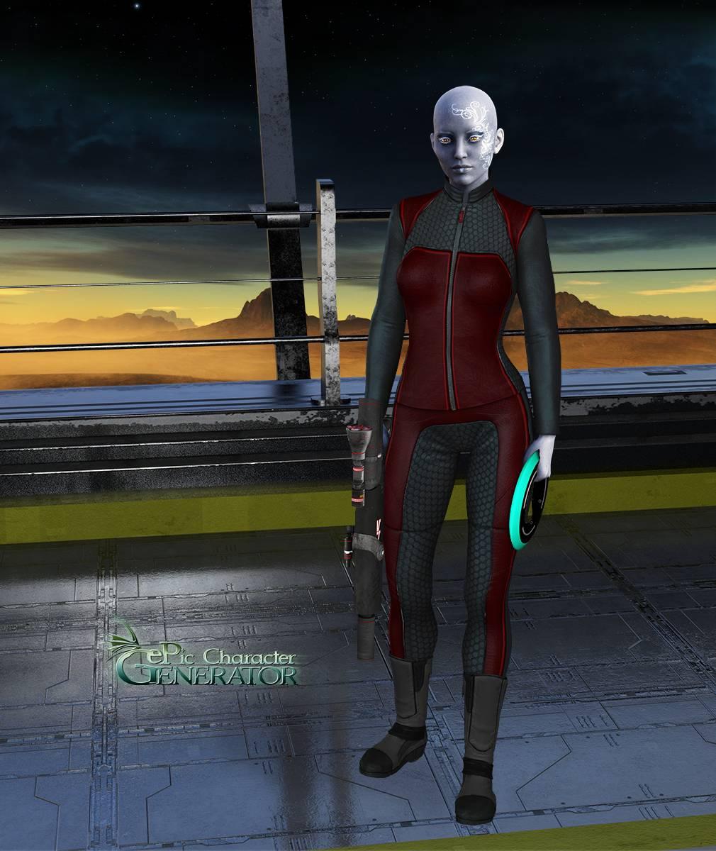 ePic Character Generator Season 2 Female Sci Fi Screenshot 07