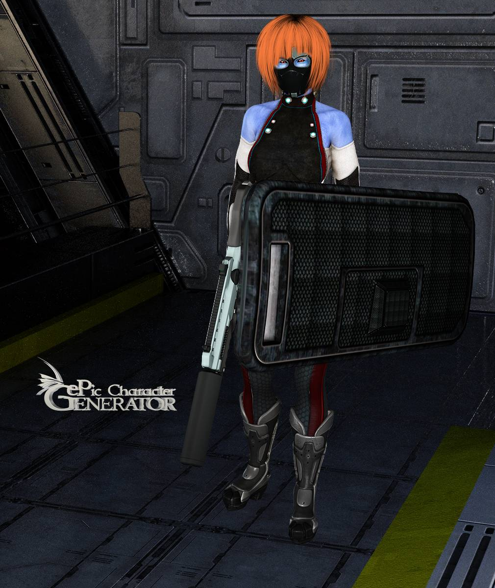 ePic Character Generator Season 2 Female Sci Fi Screenshot 08