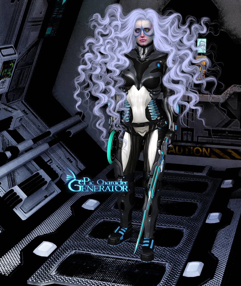 ePic Character Generator Season 2 Female Sci Fi Screenshot 09