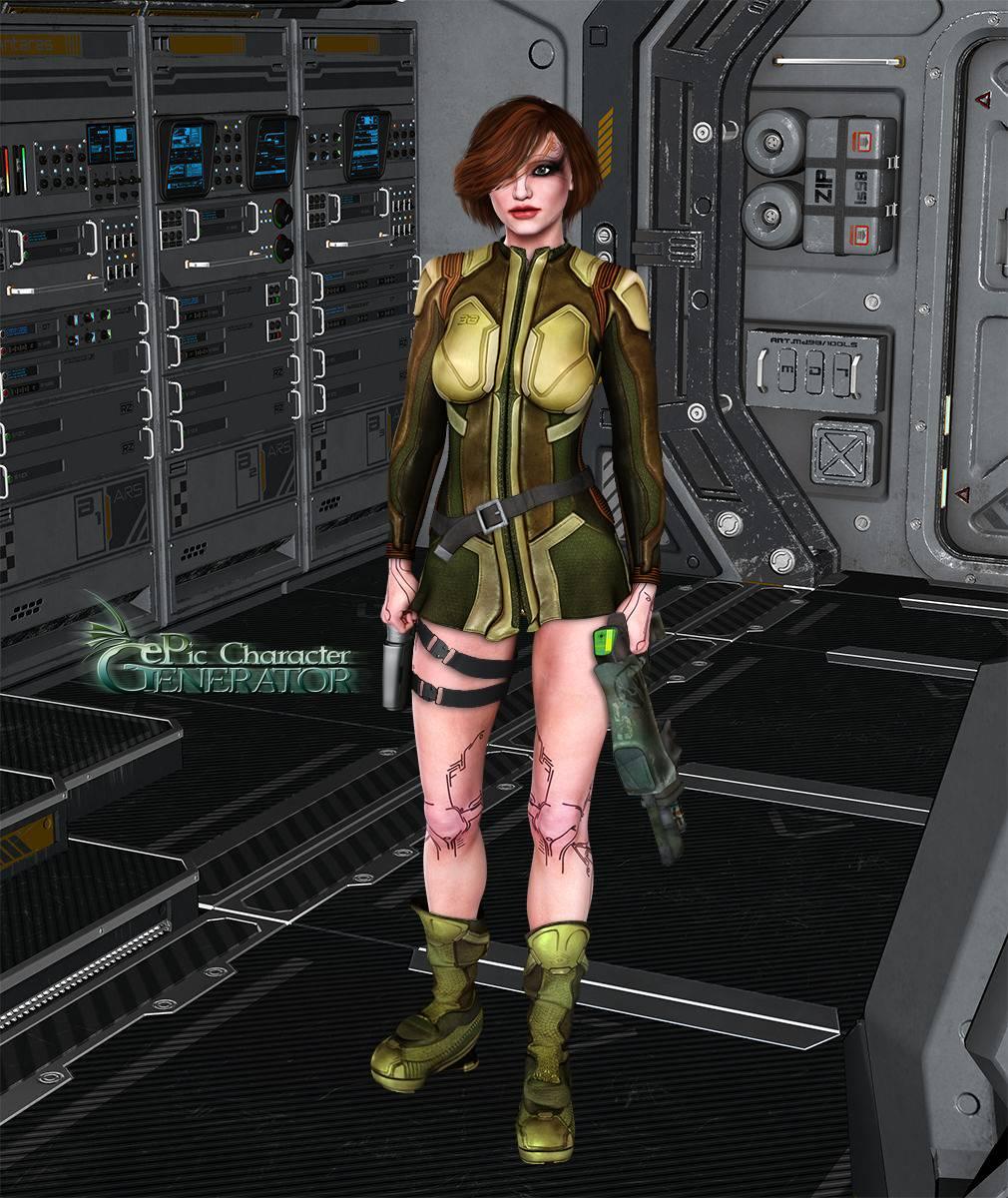 ePic Character Generator Season 2 Female Sci Fi Screenshot 10