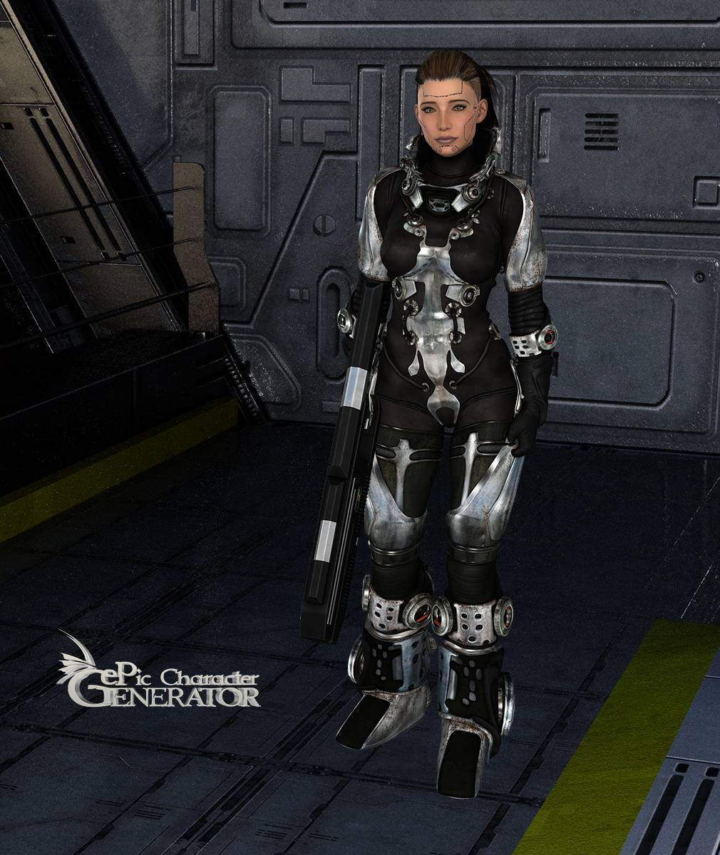 ePic Character Generator Season 2 Female Sci Fi Screenshot 11