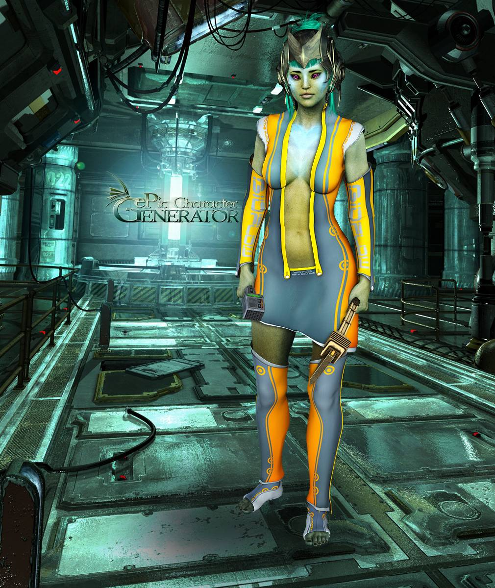 ePic Character Generator Season 2 Female Sci Fi Screenshot 12