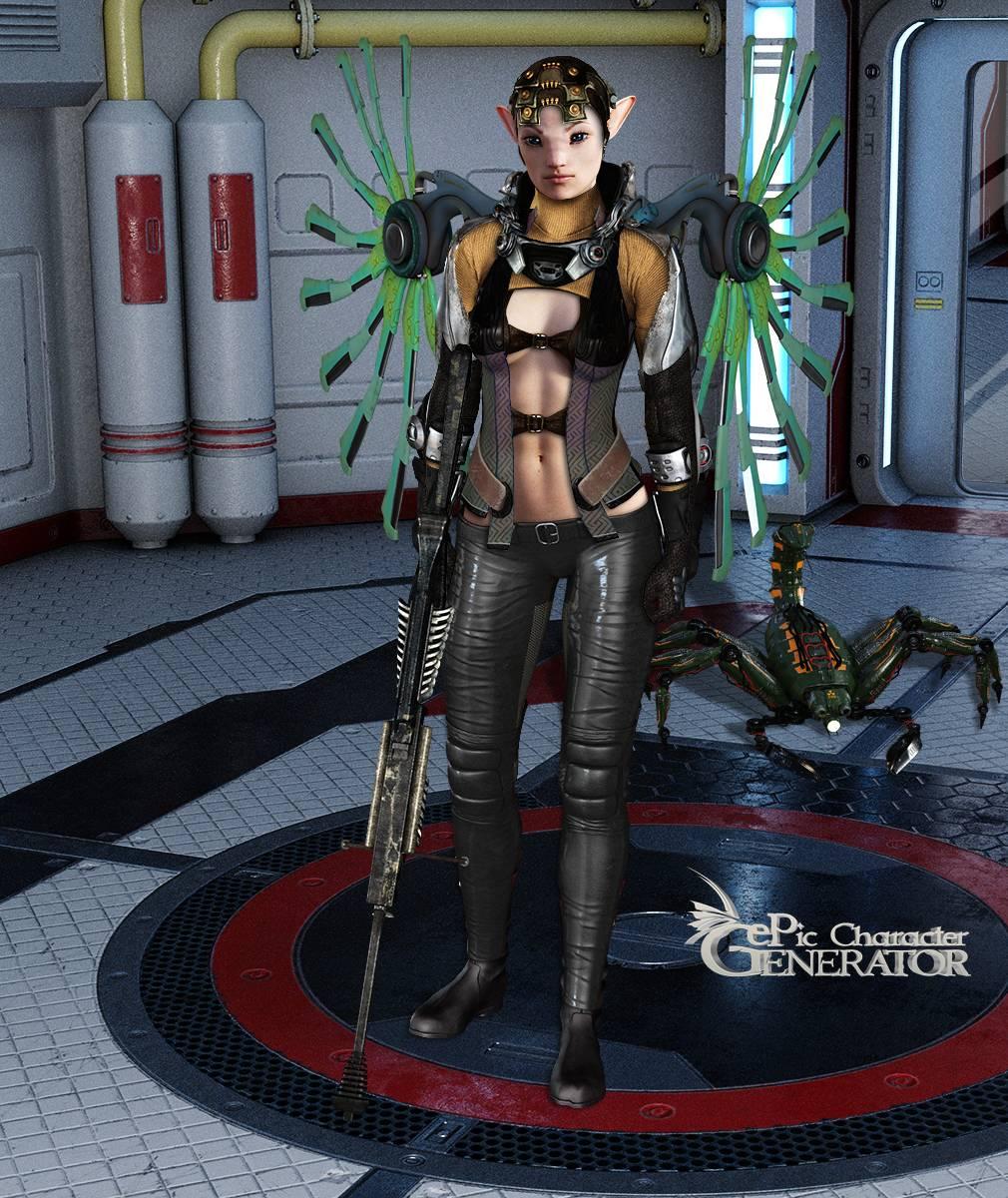 ePic Character Generator Season 2 Female Sci Fi Screenshot 13
