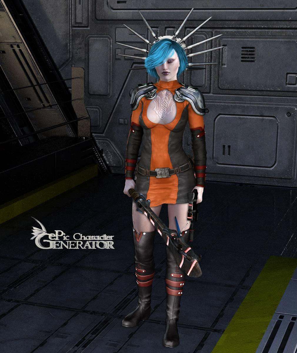 ePic Character Generator Season 2 Female Sci Fi Screenshot 15