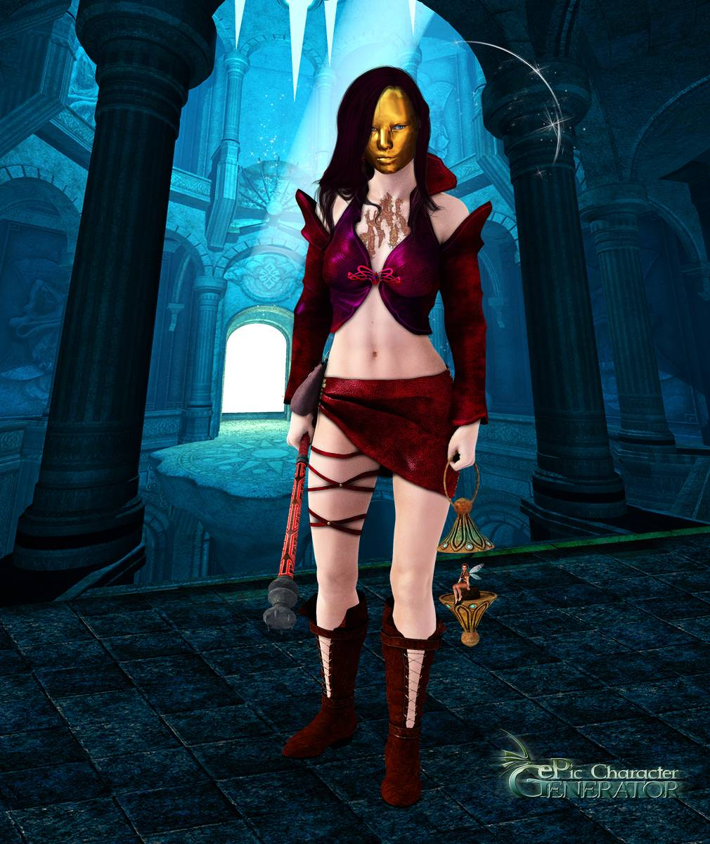 ePic Character Generator Season 2 Female Sorcerer Screenshot 03