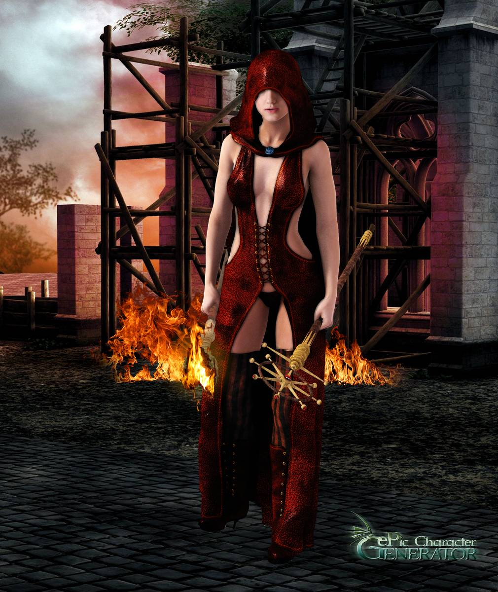 ePic Character Generator Season 2 Female Sorcerer Screenshot 04