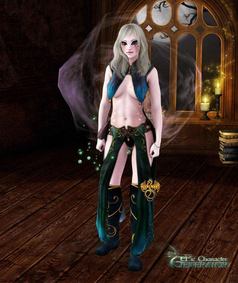 ePic Character Generator Season 2 Female Sorcerer Screenshot 08