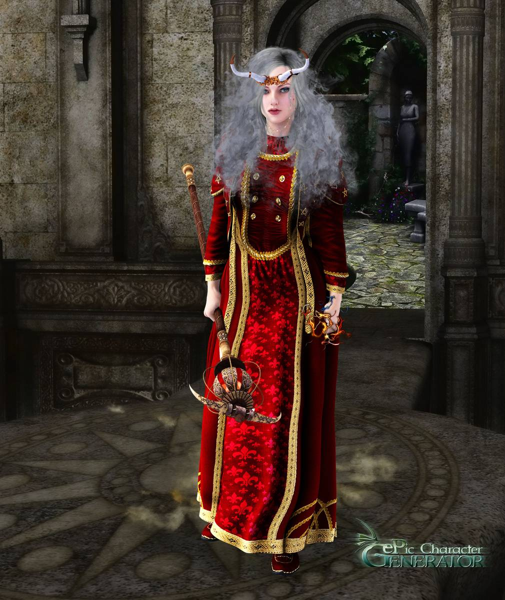 ePic Character Generator Season 2 Female Sorcerer Screenshot 11