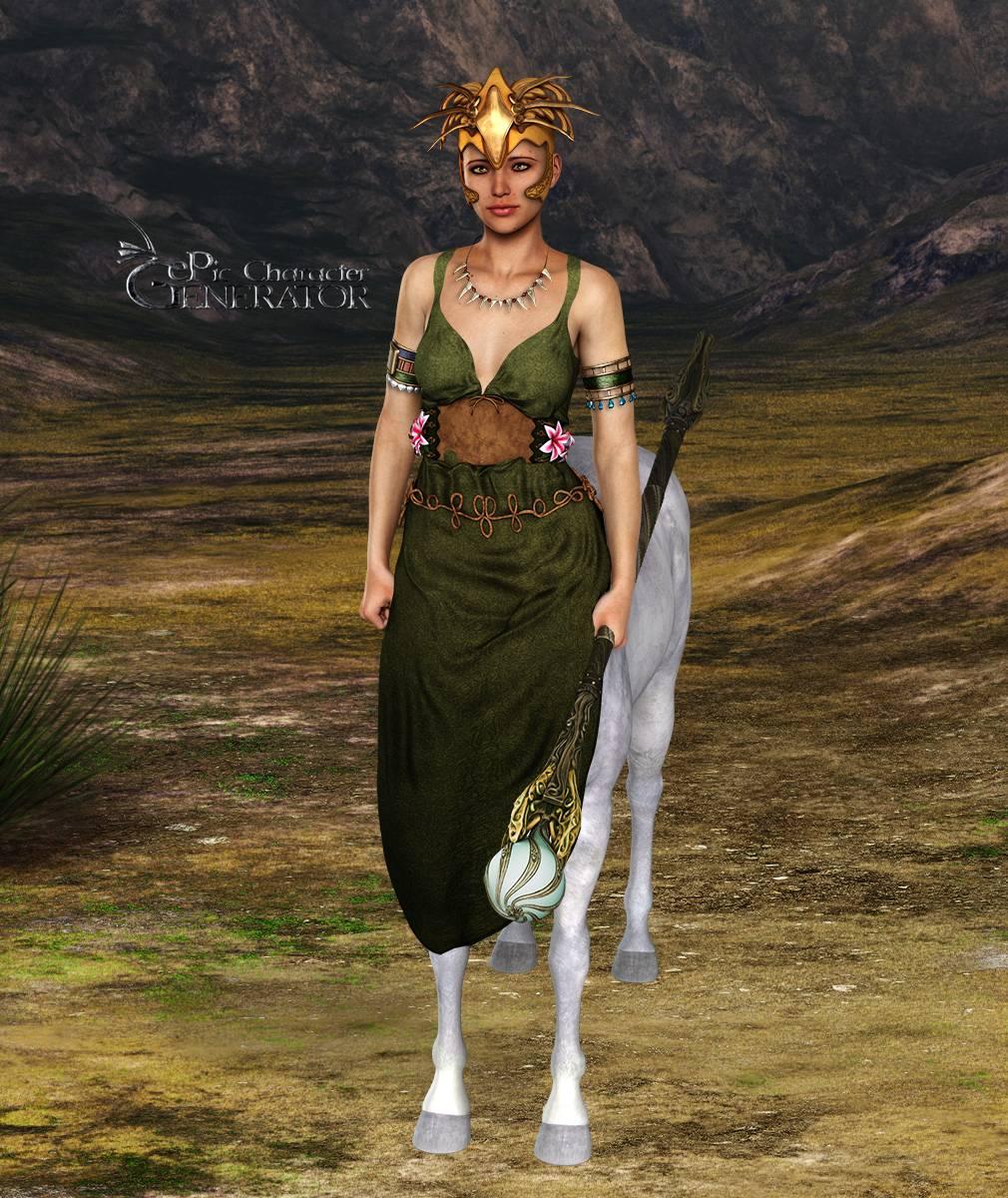 ePic Character Generator Season 2 Female Supernatural Screenshot 04