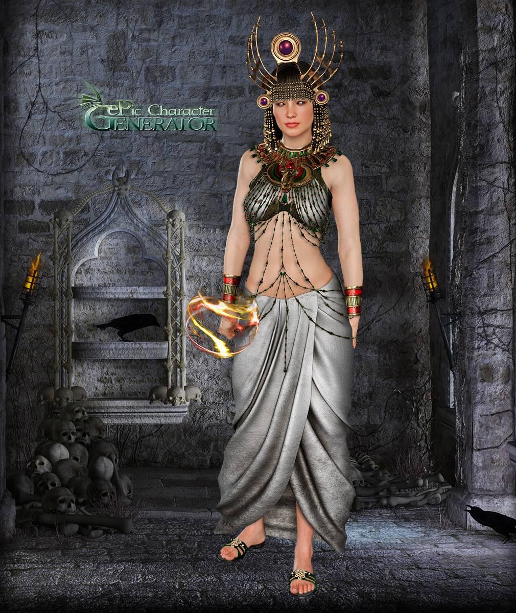 ePic Character Generator Season 2 Female Supernatural Screenshot 09