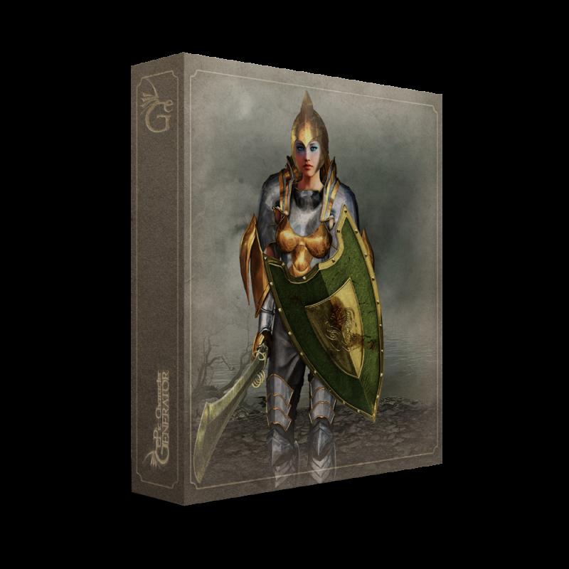 ePic Character Generator Season 2 Female Warrior Box