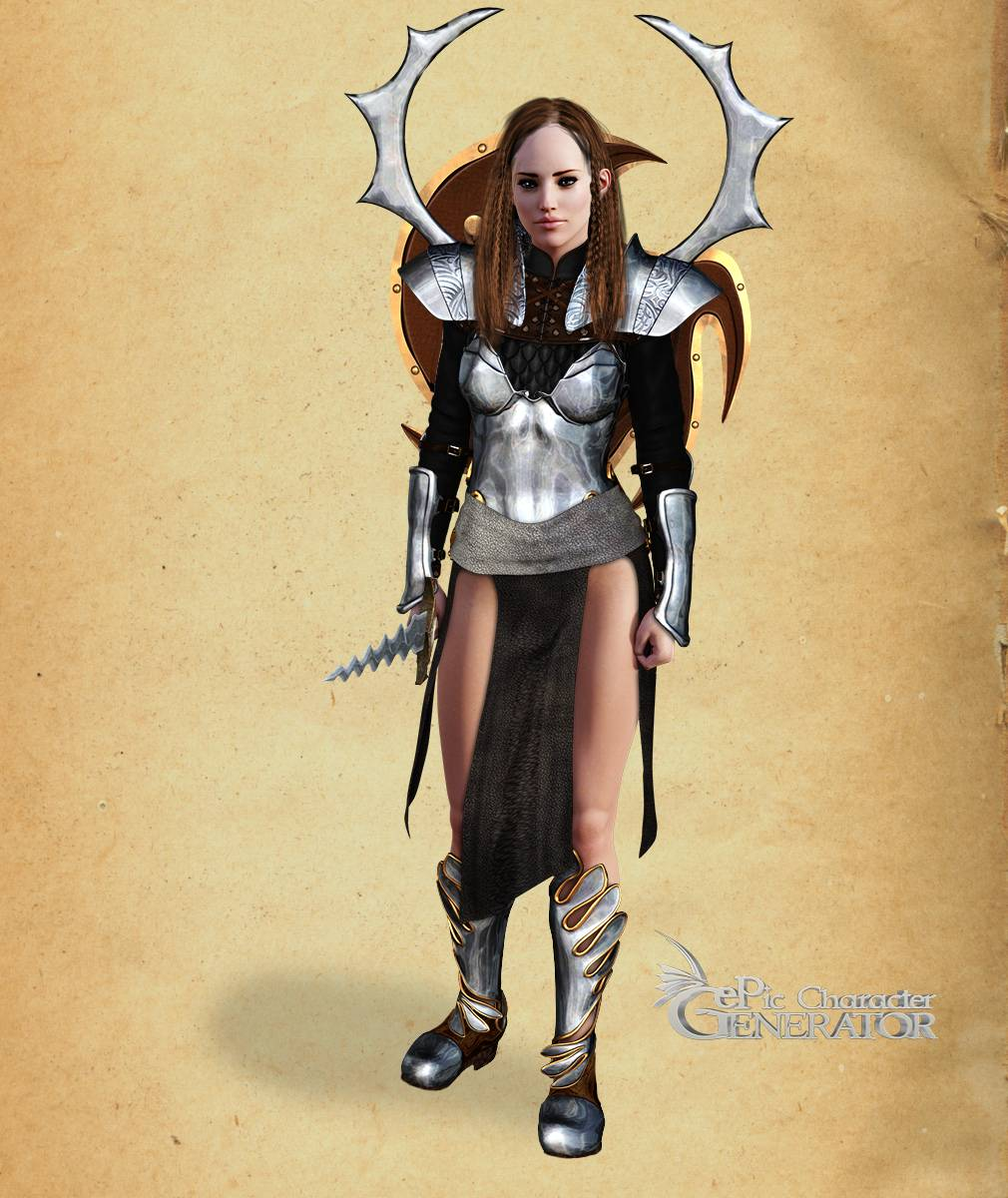 ePic Character Generator Season 2 Female Warrior Screenshot 02