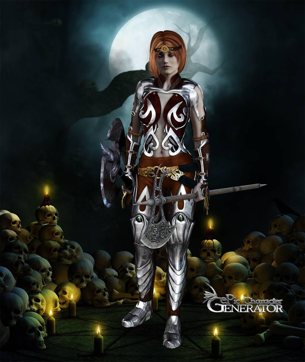 ePic Character Generator Season 2 Female Warrior Screenshot 03