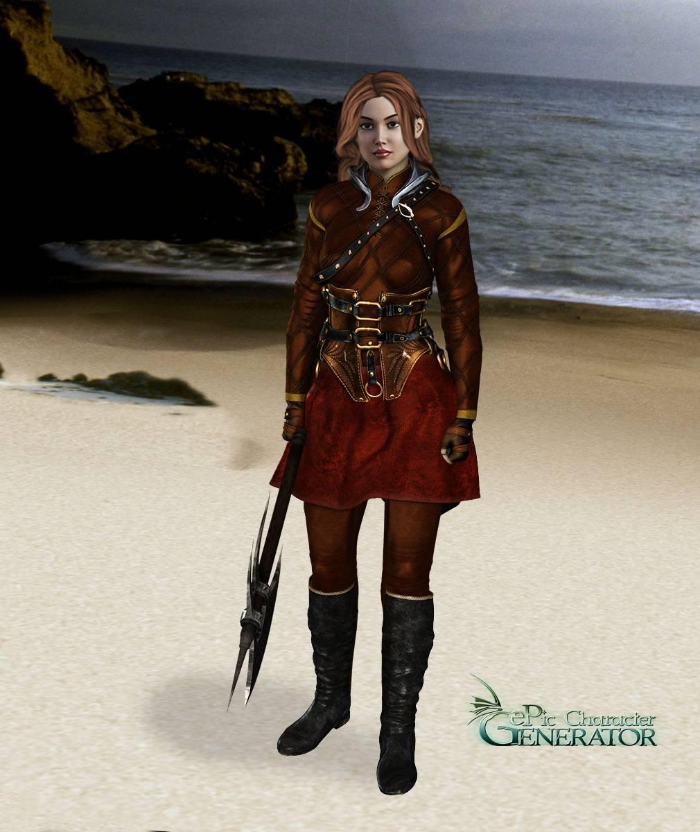 ePic Character Generator Season 2 Female Warrior Screenshot 05