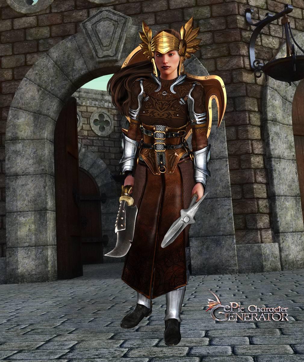 ePic Character Generator Season 2 Female Warrior Screenshot 06