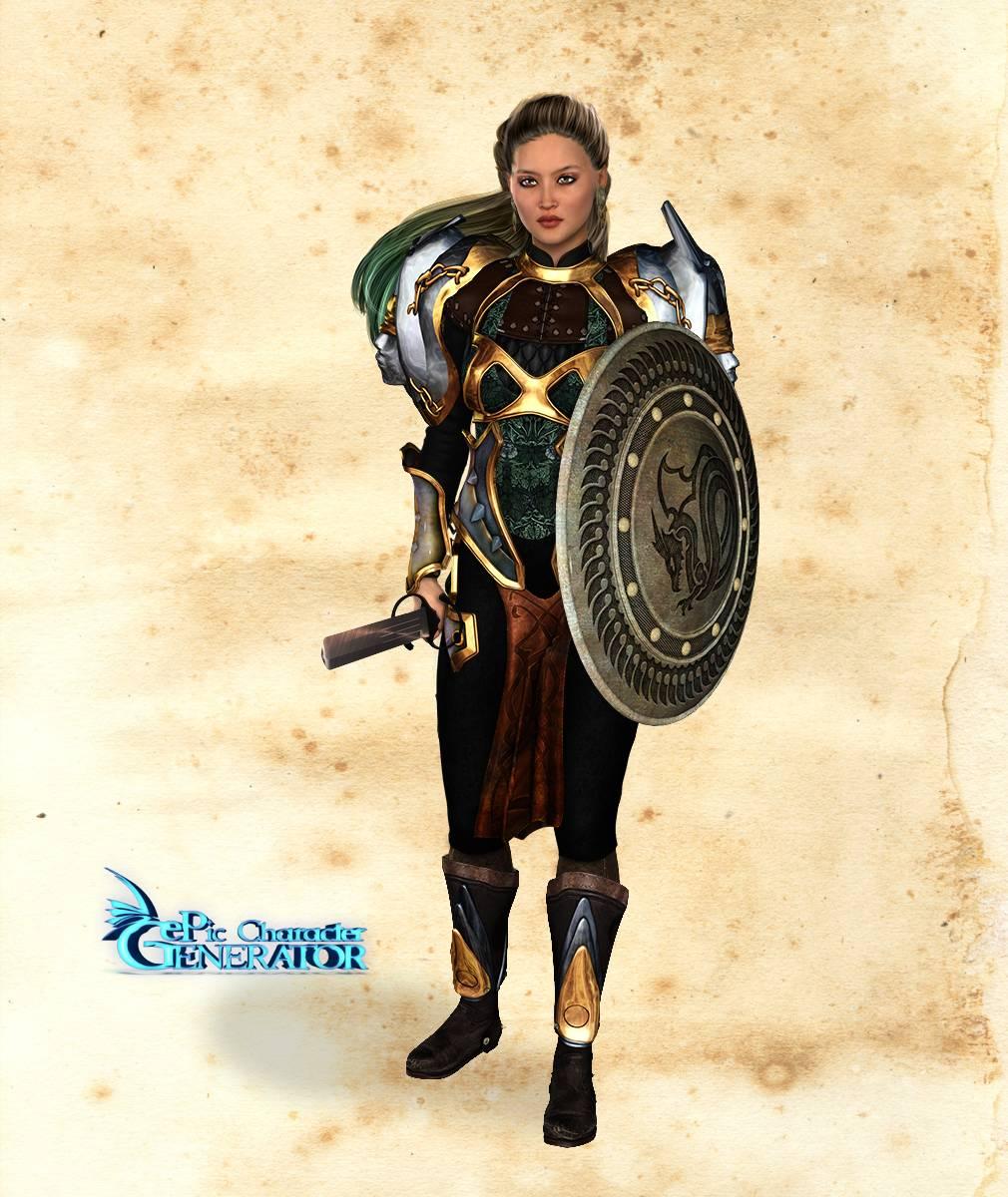 ePic Character Generator Season 2 Female Warrior Screenshot 07