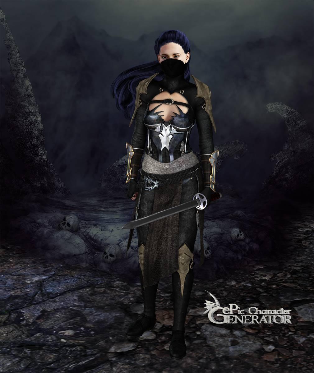 ePic Character Generator Season 2 Female Warrior Screenshot 13