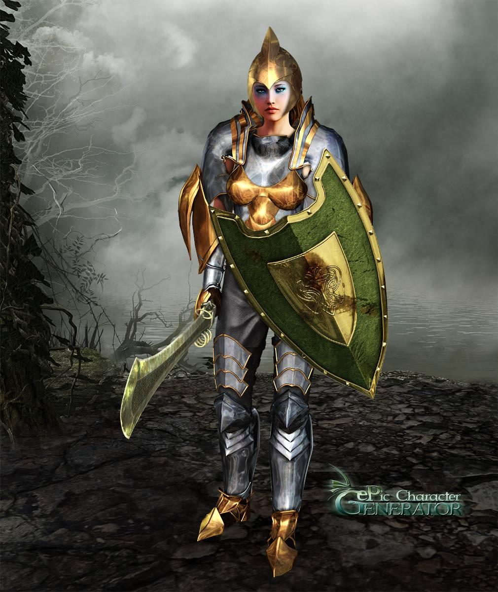ePic Character Generator Season 2 Female Warrior Screenshot 14