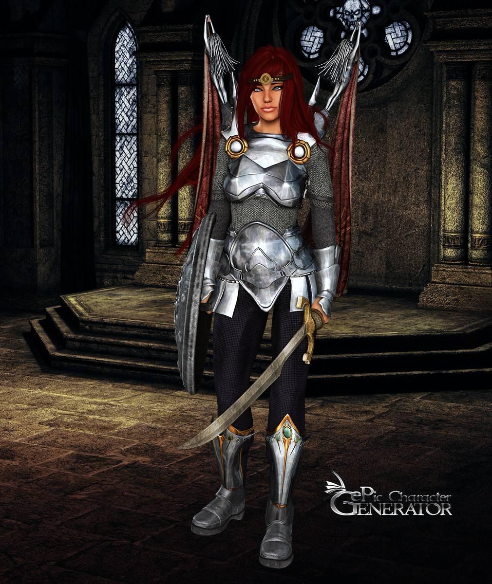 ePic Character Generator Season 2 Female Warrior Screenshot 15