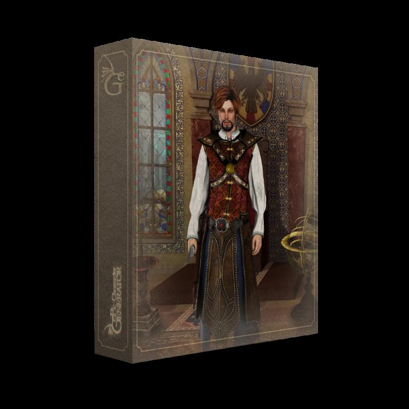 ePic Character Generator Season 2 Male Adventurer Box