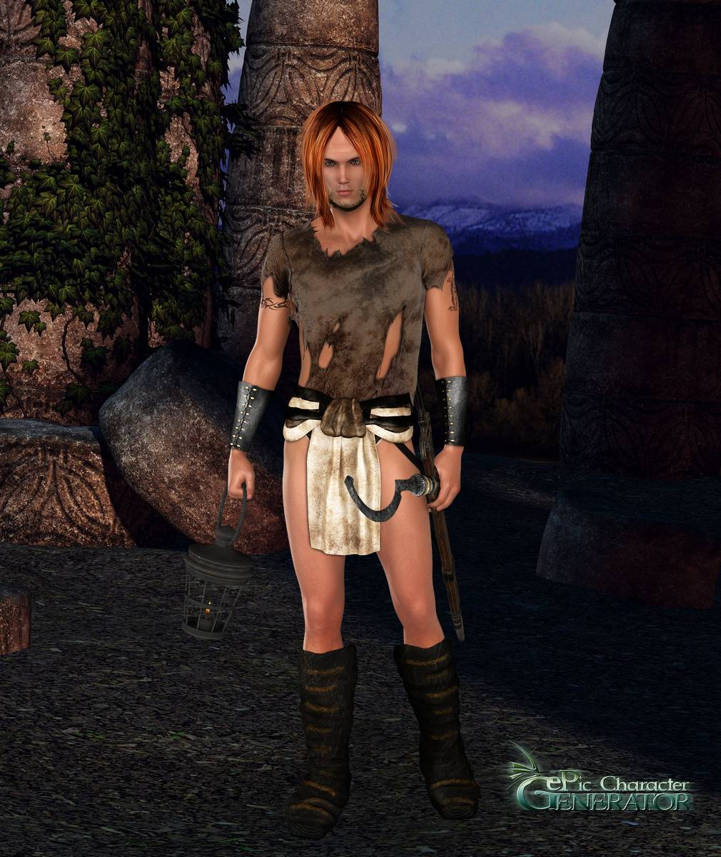 ePic Character Generator Season 2 Male Adventurer Screenshot 03
