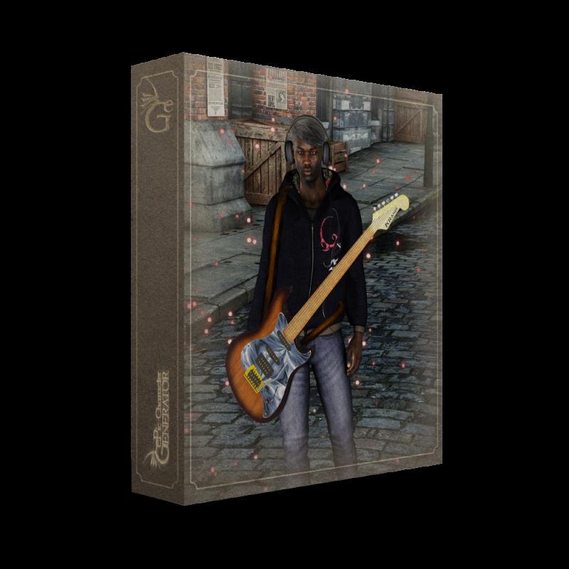 ePic Character Generator Season 2 Male Modern Box