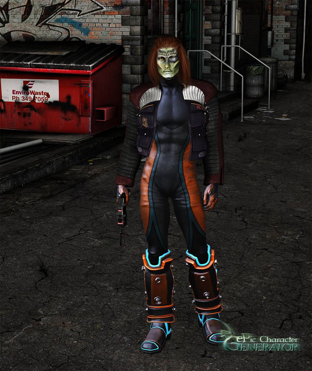 ePic Character Generator Season 2 Male Sci fi Screenshot 09