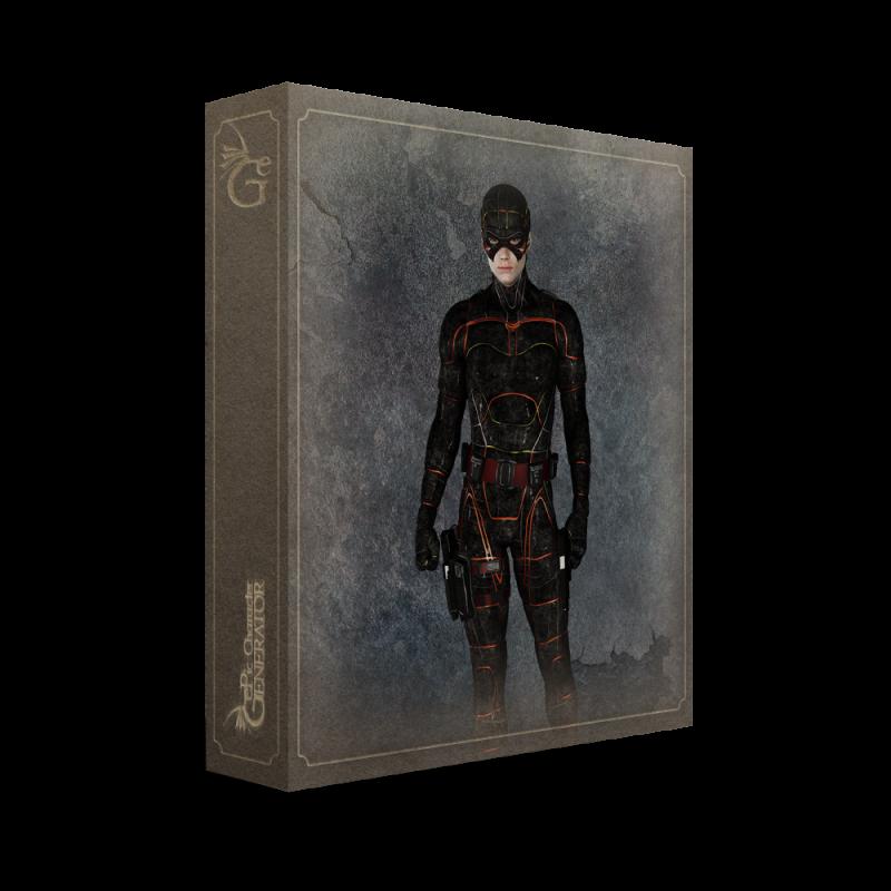 ePic Character Generator Season 2 Male Superhero Box