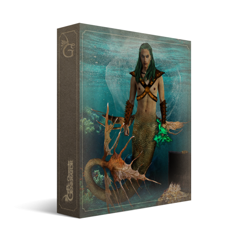 ePic Character Generator Season 2 Male Supernatural Box