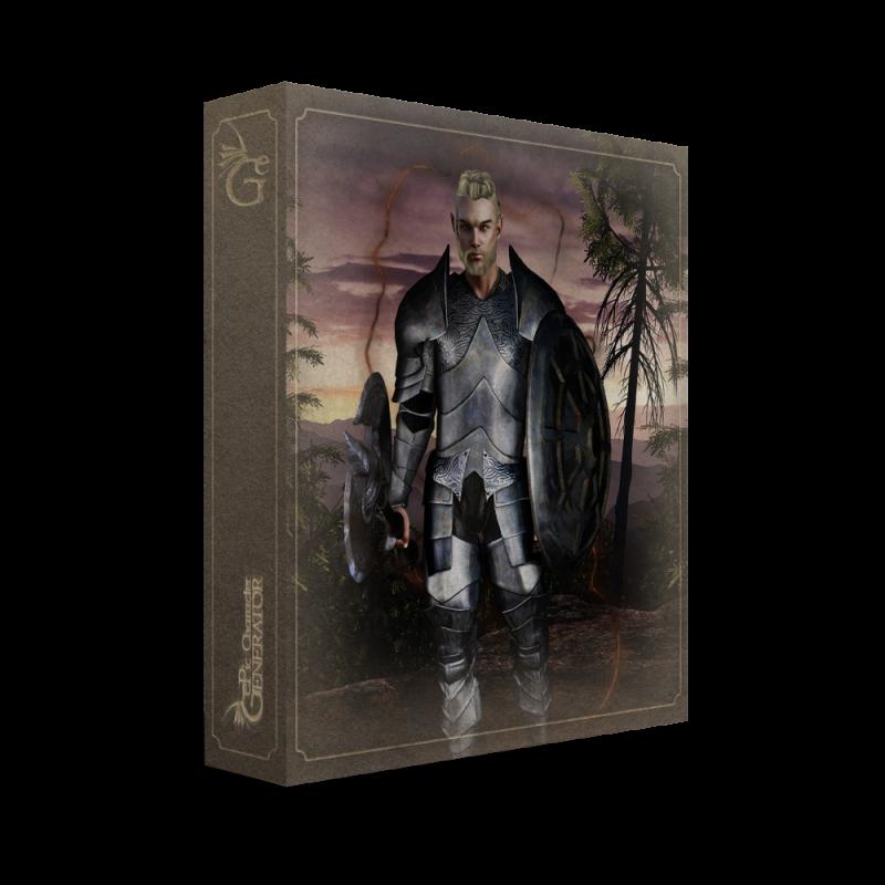 ePic Character Generator Season 2 Male Warrior Box
