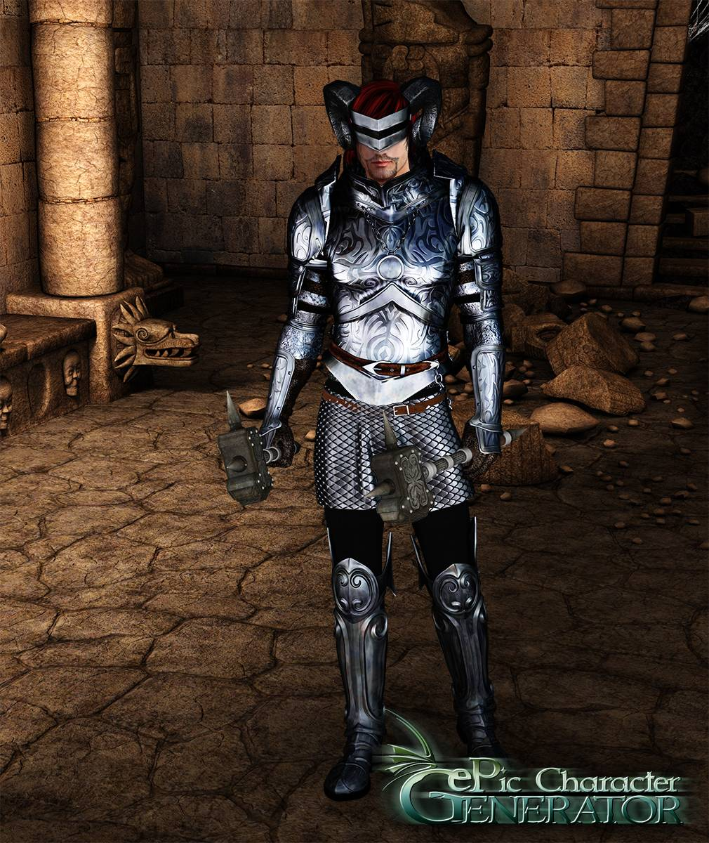 ePic Character Generator Season 2 Male Warrior Screenshot 04