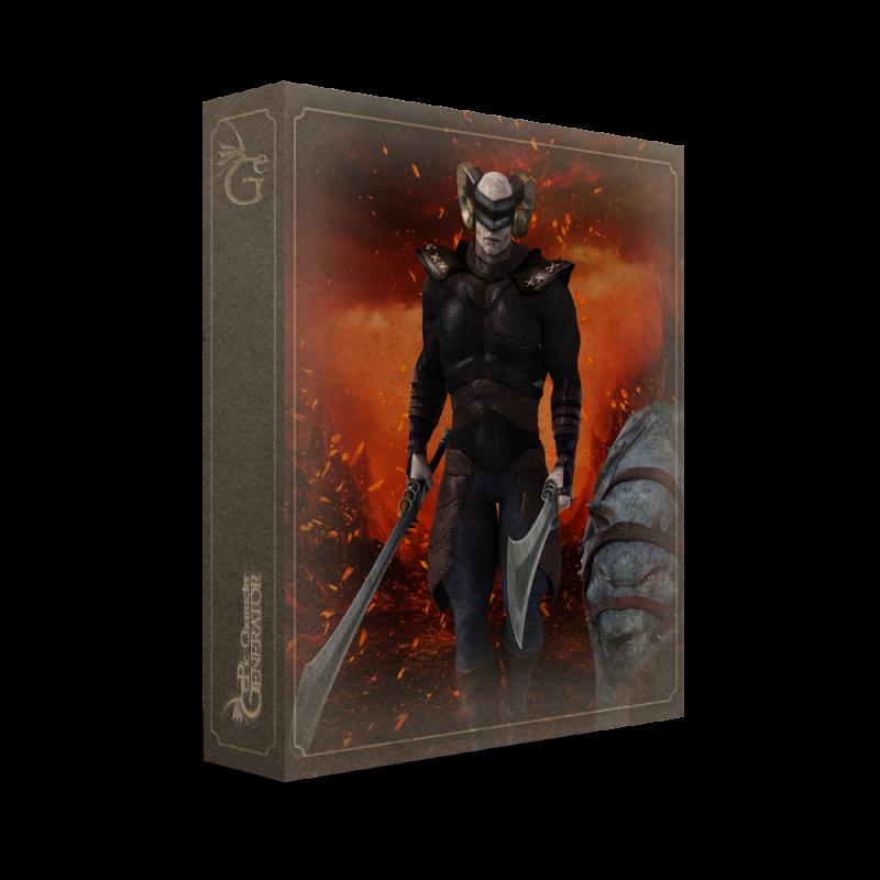 ePic Character Generator Season 2 Muscular Barbarian Box