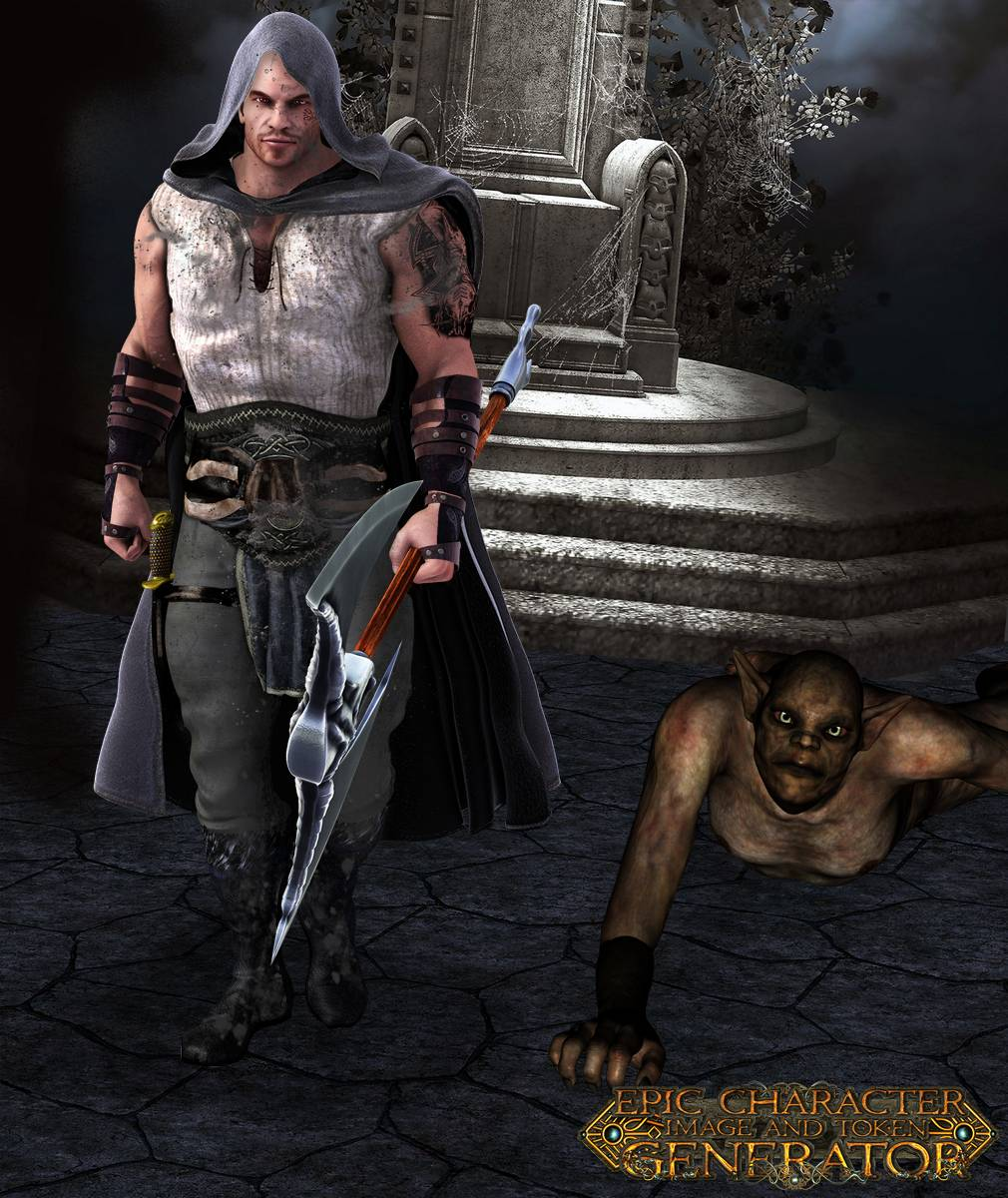 ePic Character Generator Season 2 Muscular Barbarian Screenshot 02