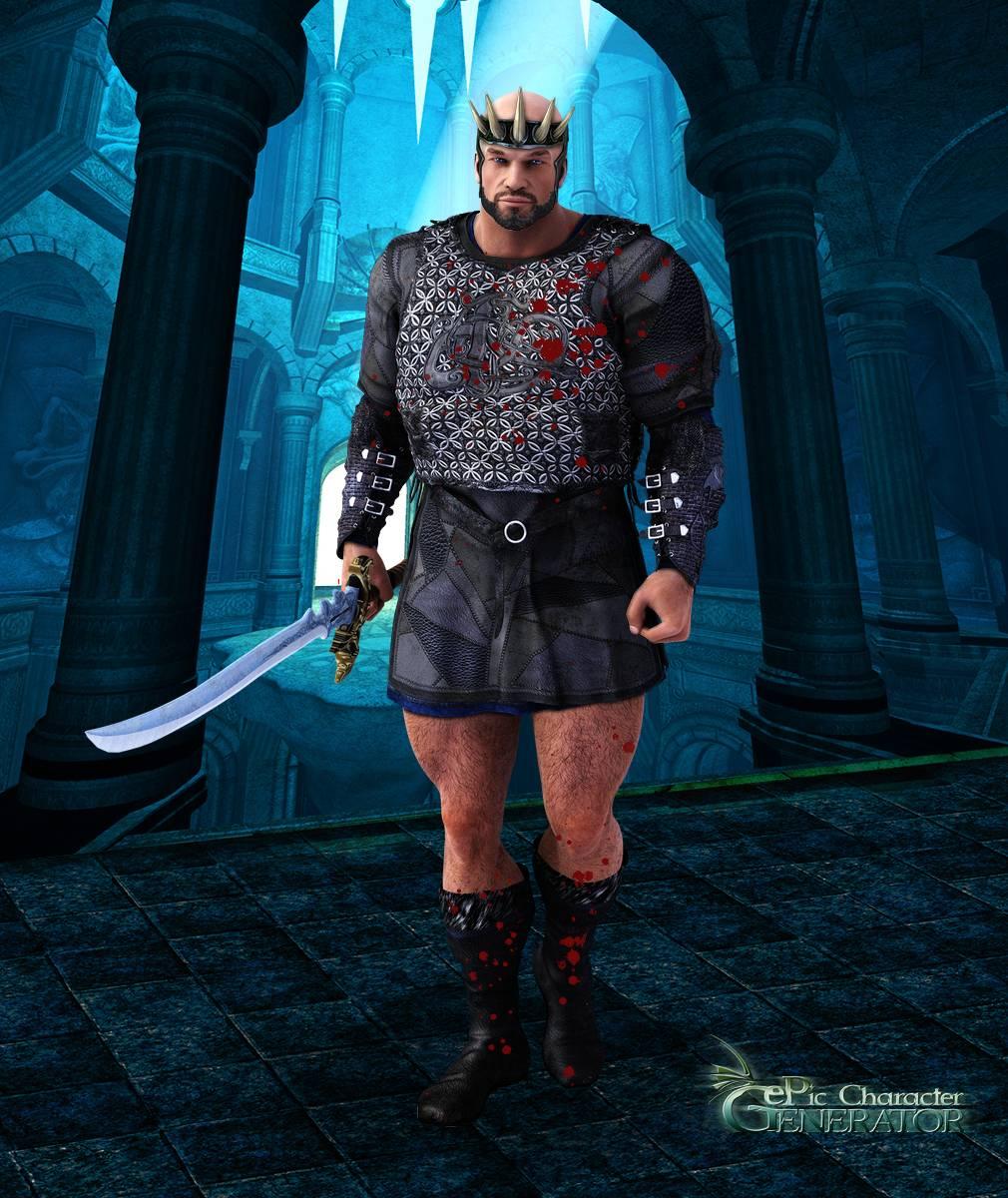 ePic Character Generator Season 2 Muscular Barbarian Screenshot 03