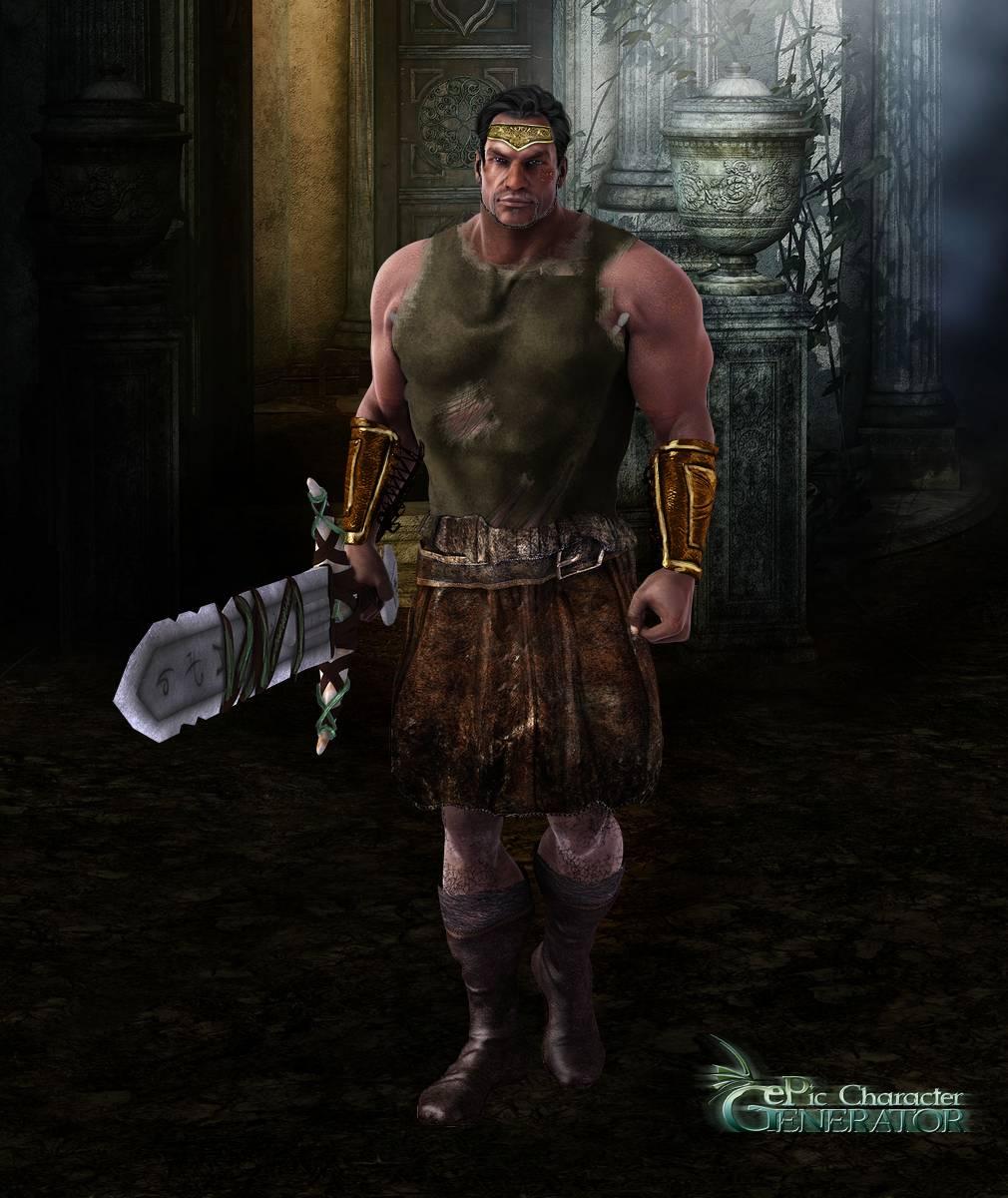 ePic Character Generator Season 2 Muscular Barbarian Screenshot 04