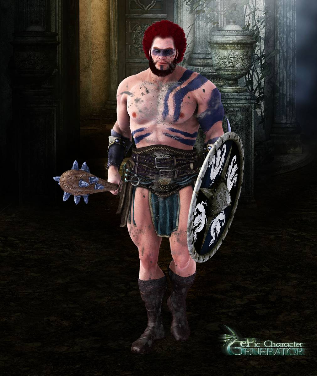 ePic Character Generator Season 2 Muscular Barbarian Screenshot 06